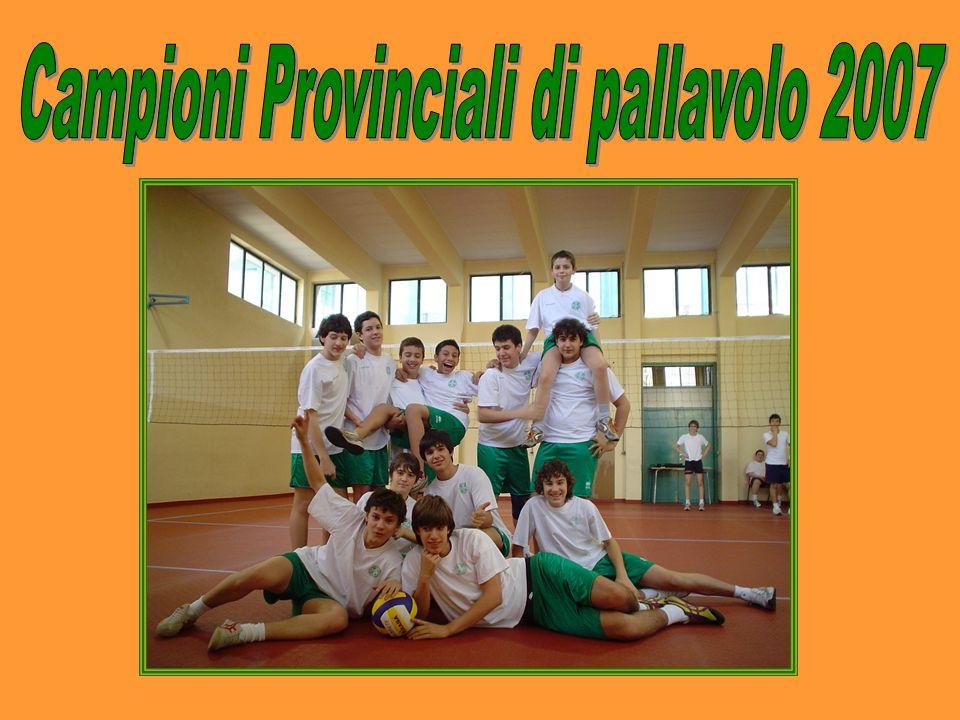 Campioni Provinciali di pallavolo 2007
