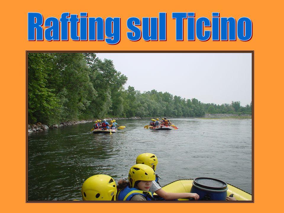 Rafting sul Ticino