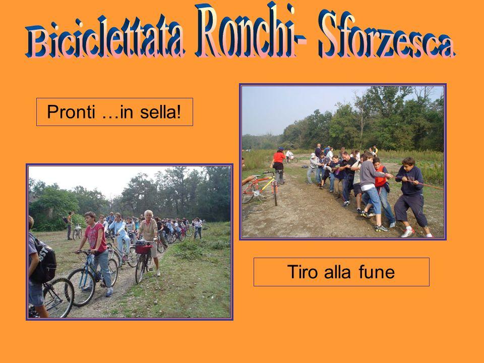 Biciclettata Ronchi- Sforzesca