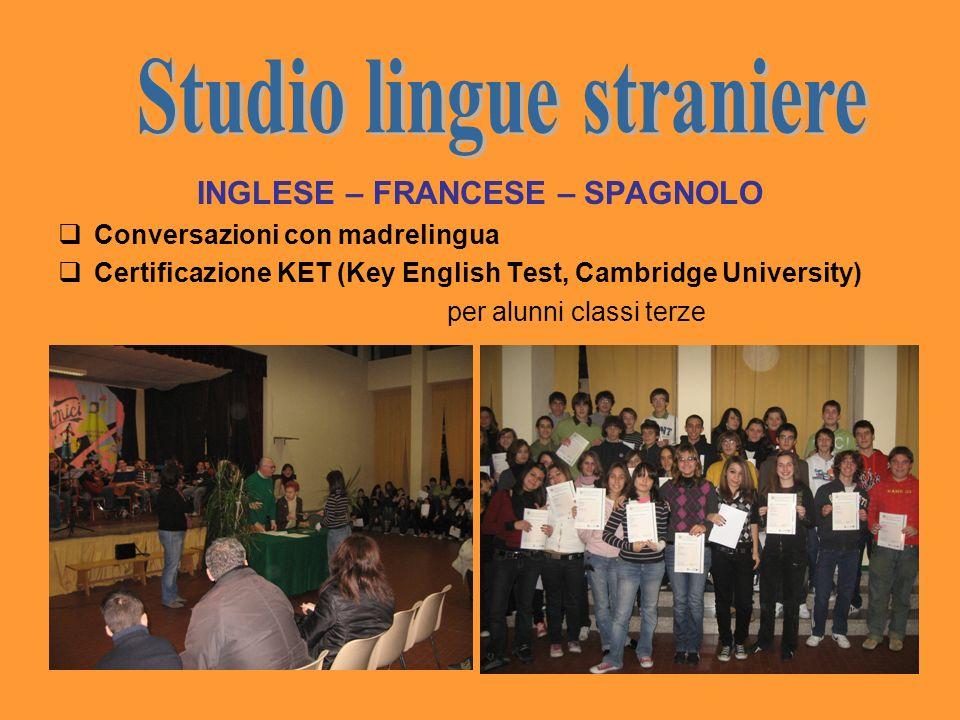 Studio lingue straniere INGLESE – FRANCESE – SPAGNOLO