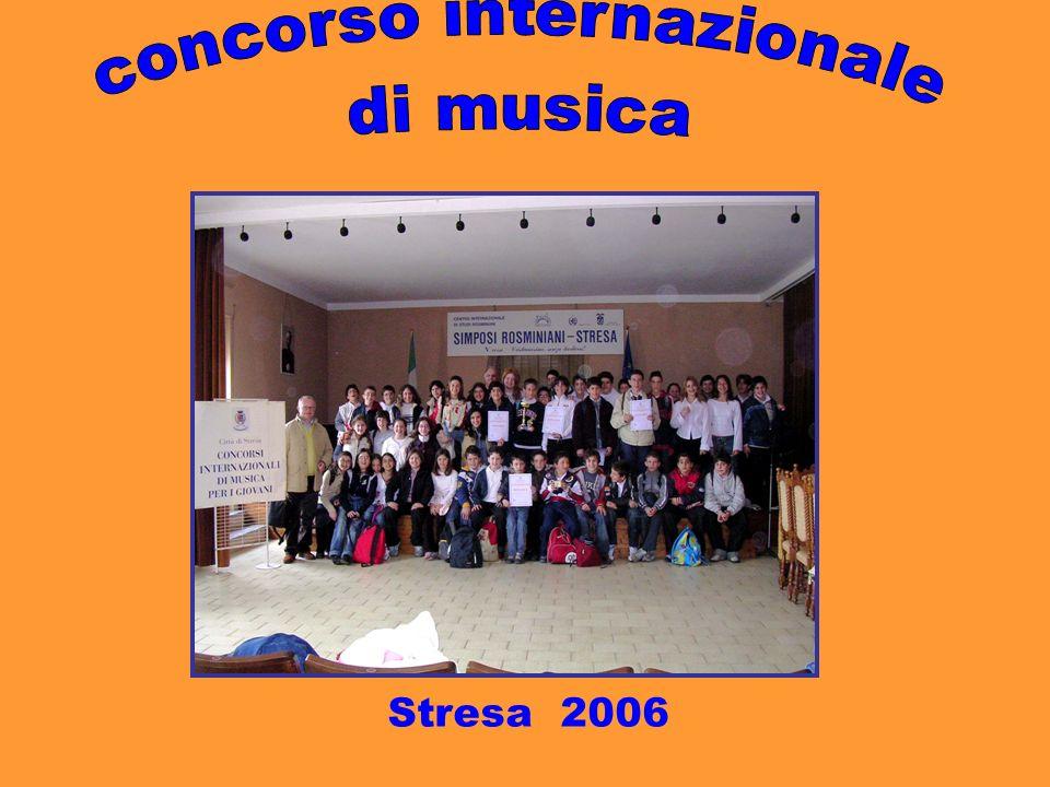 concorso internazionale