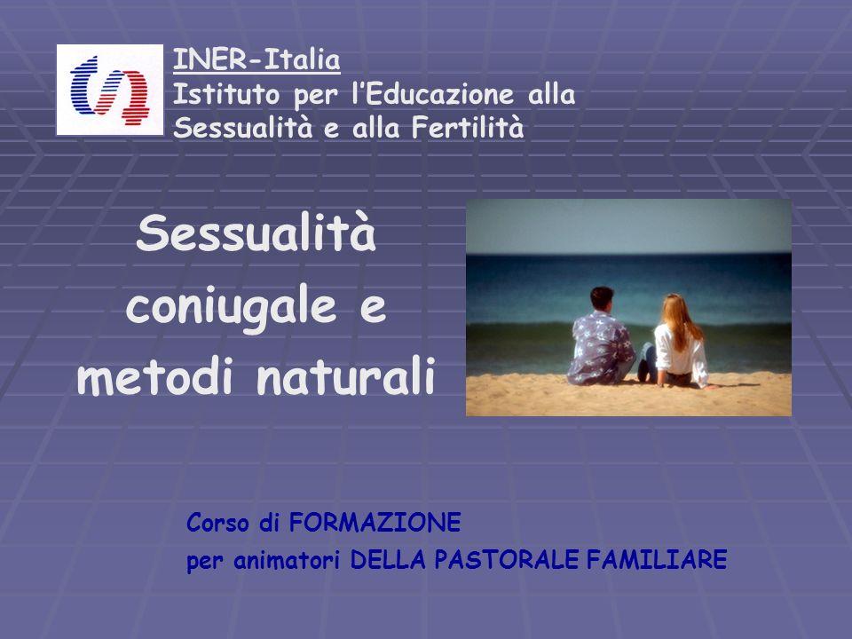 Sessualità coniugale e metodi naturali
