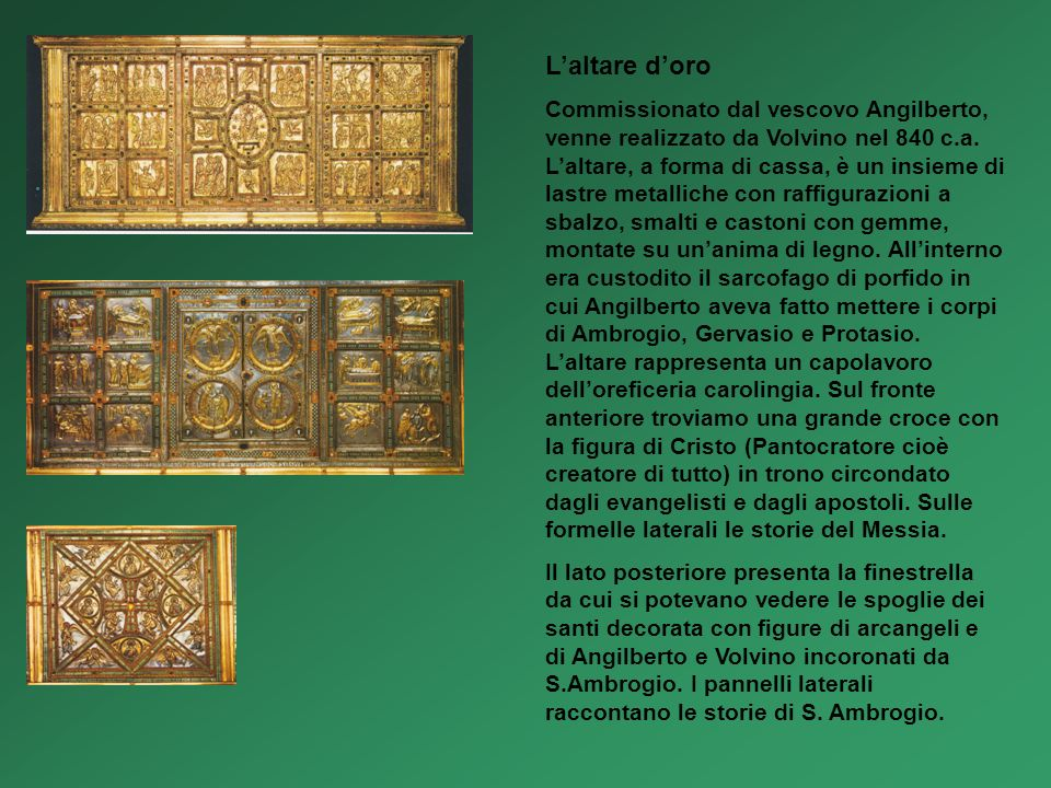 L'altare d'oro