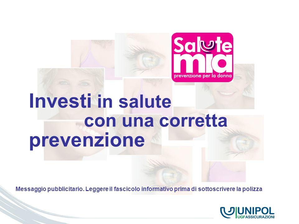 Investi in salute prevenzione con una corretta