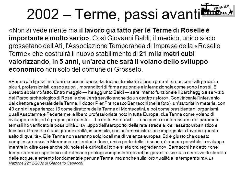 2002 – Terme, passi avanti
