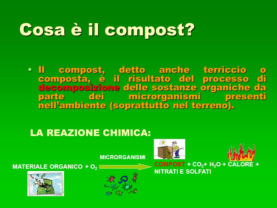 Cosa è il compost