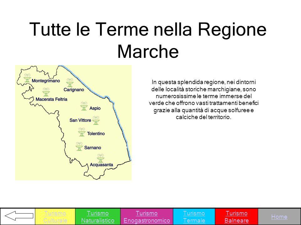Tutte le Terme nella Regione Marche