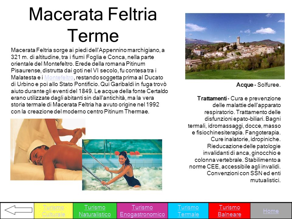 Macerata Feltria Terme