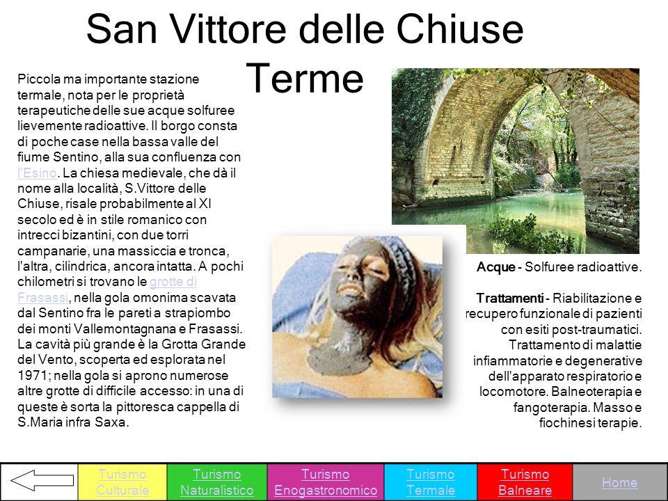 San Vittore delle Chiuse Terme