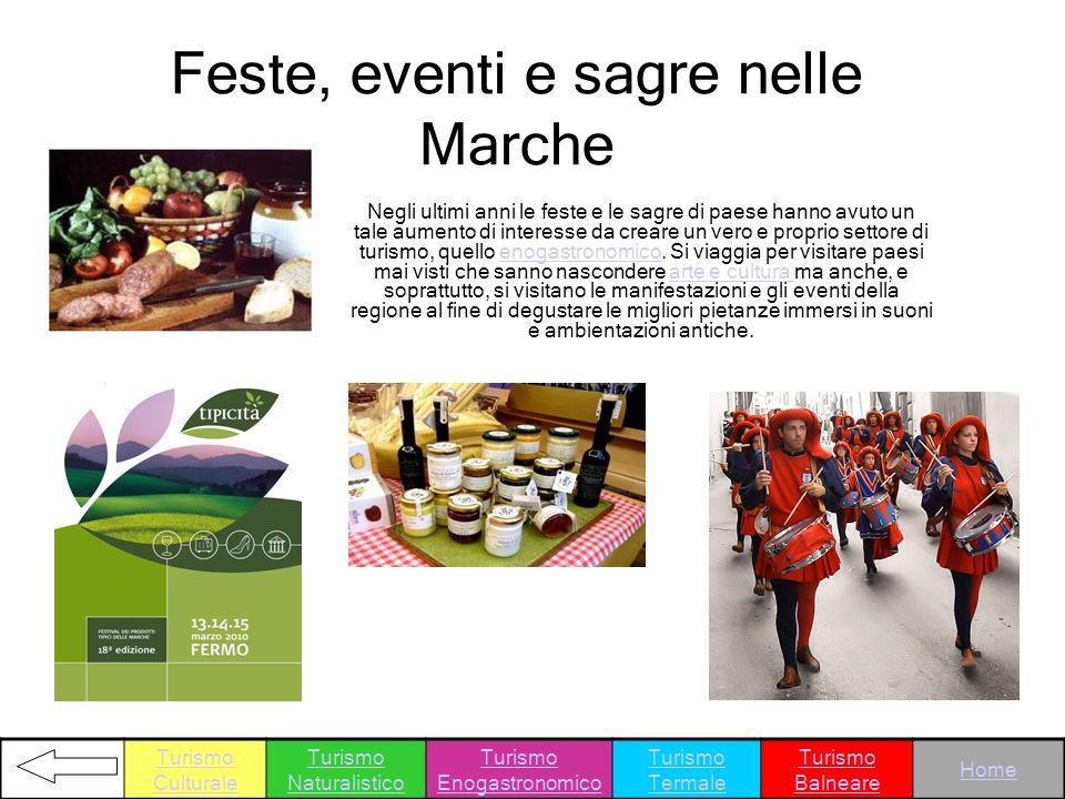 Feste, eventi e sagre nelle Marche