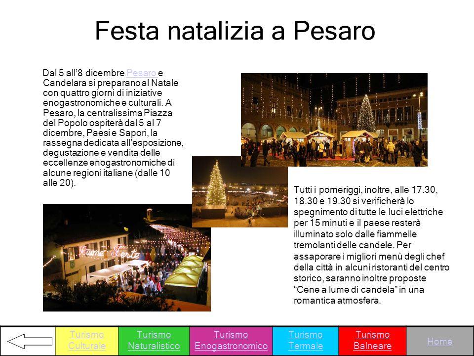 Festa natalizia a Pesaro