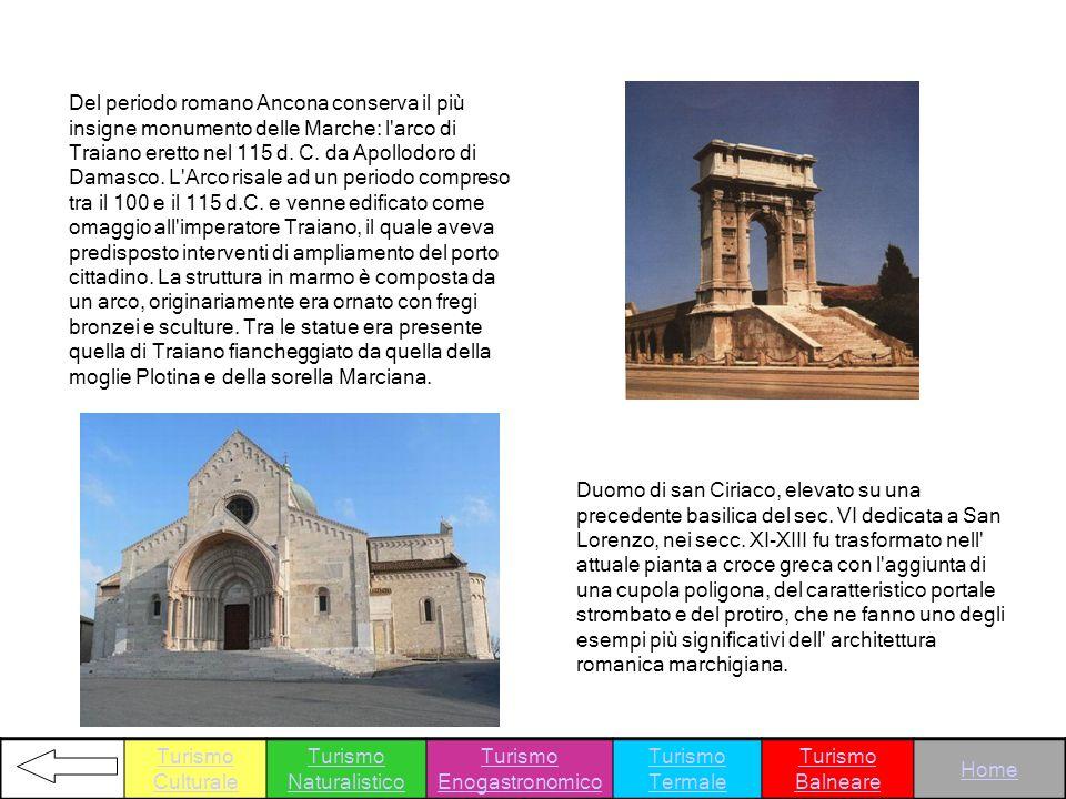 Turismo Naturalistico Turismo Enogastronomico Turismo Termale