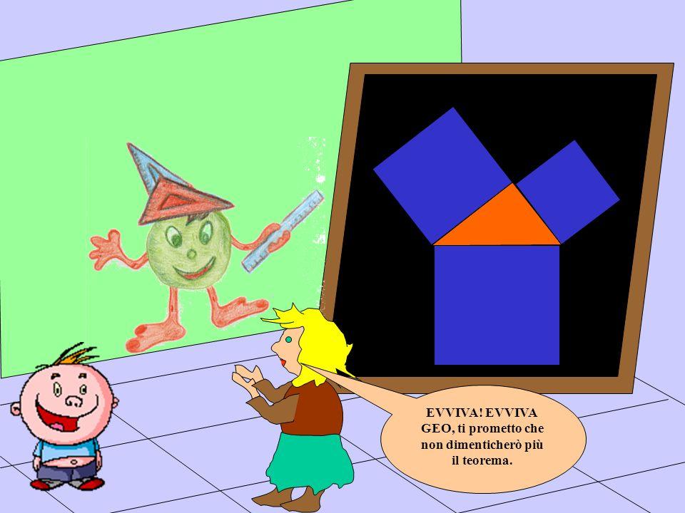 GEO, ti prometto che non dimenticherò più il teorema.