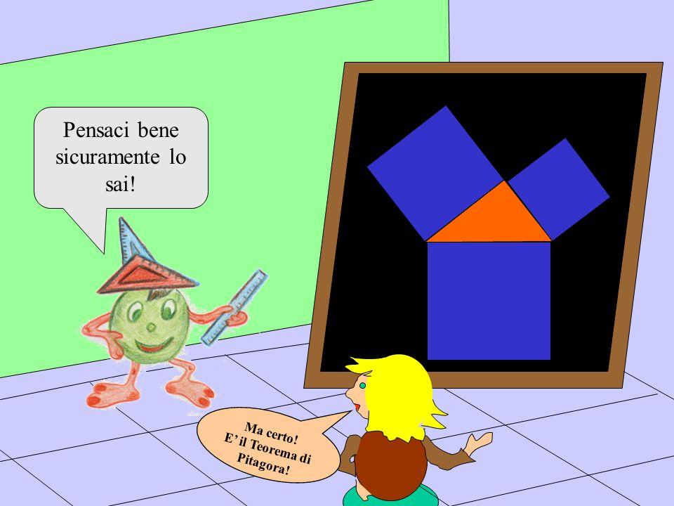 E' il Teorema di Pitagora!