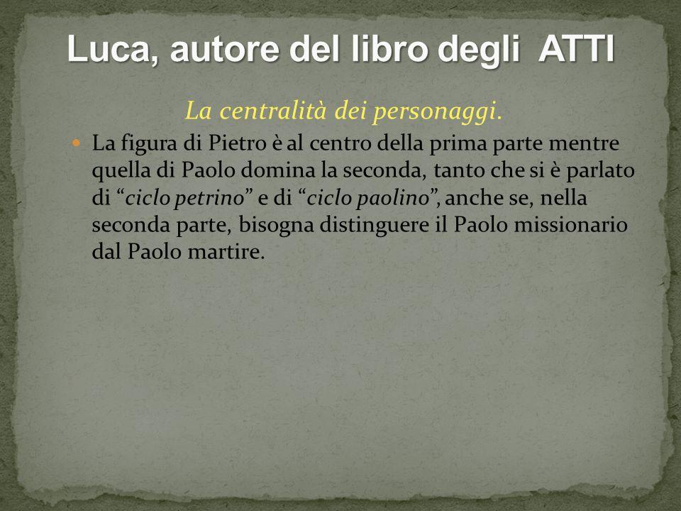 Luca, autore del libro degli ATTI
