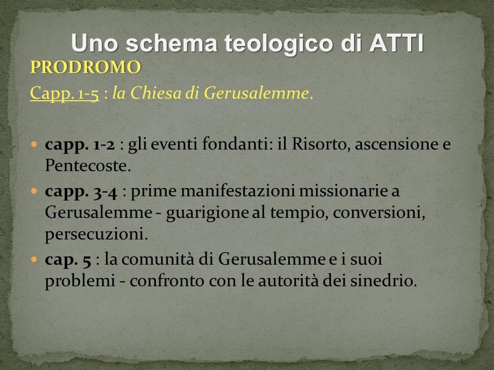Uno schema teologico di ATTI