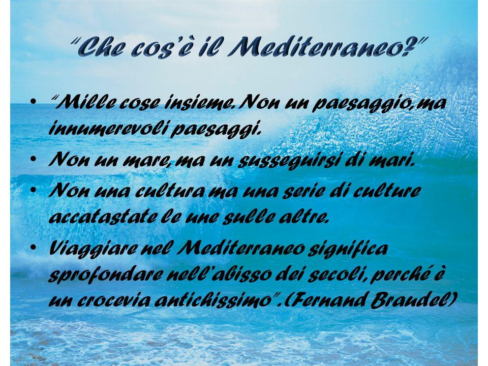 Che cos'è il Mediterraneo