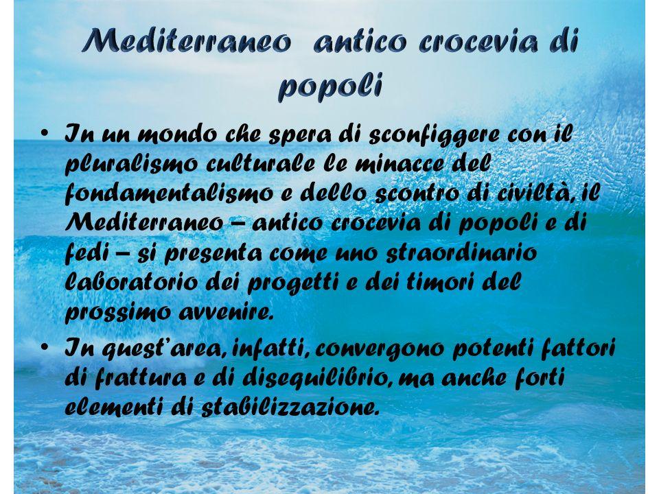 Mediterraneo antico crocevia di popoli
