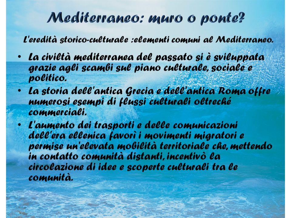 Mediterraneo: muro o ponte