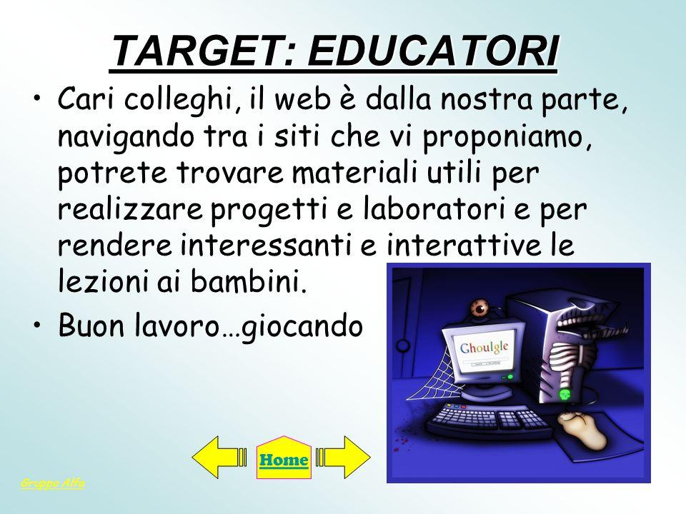 TARGET: EDUCATORI