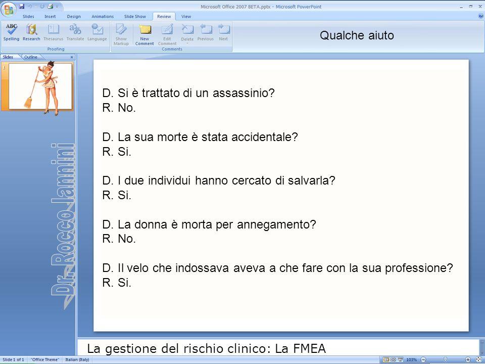 Dr. Rocco Iannini Qualche aiuto