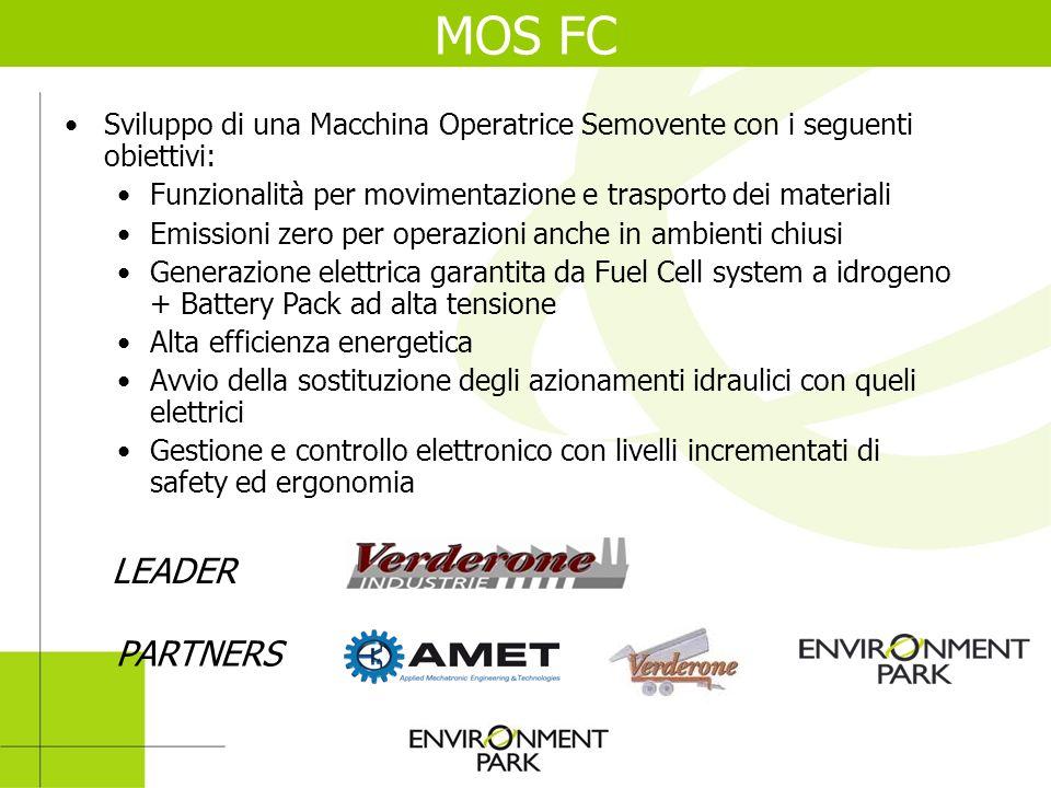 MOS FC Sviluppo di una Macchina Operatrice Semovente con i seguenti obiettivi: Funzionalità per movimentazione e trasporto dei materiali.