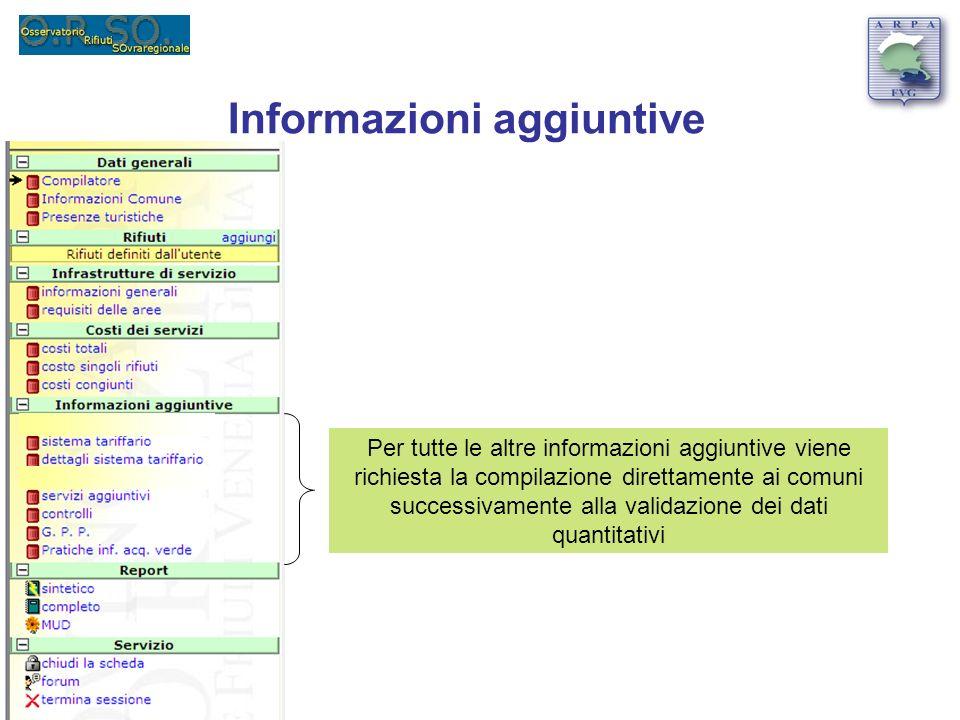 Informazioni aggiuntive