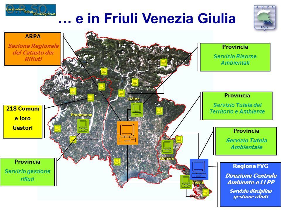 … e in Friuli Venezia Giulia