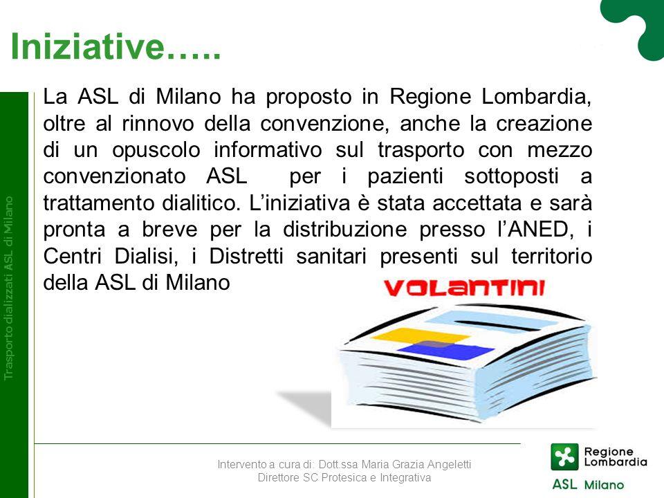 Trasporto dializzati ASL di Milano