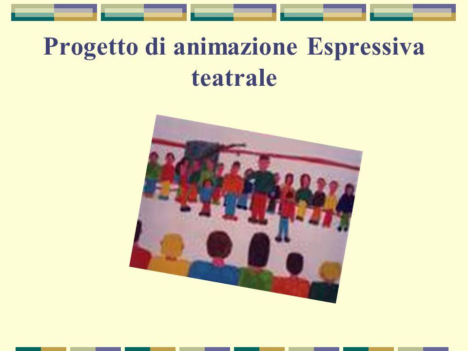 Progetto di animazione Espressiva teatrale
