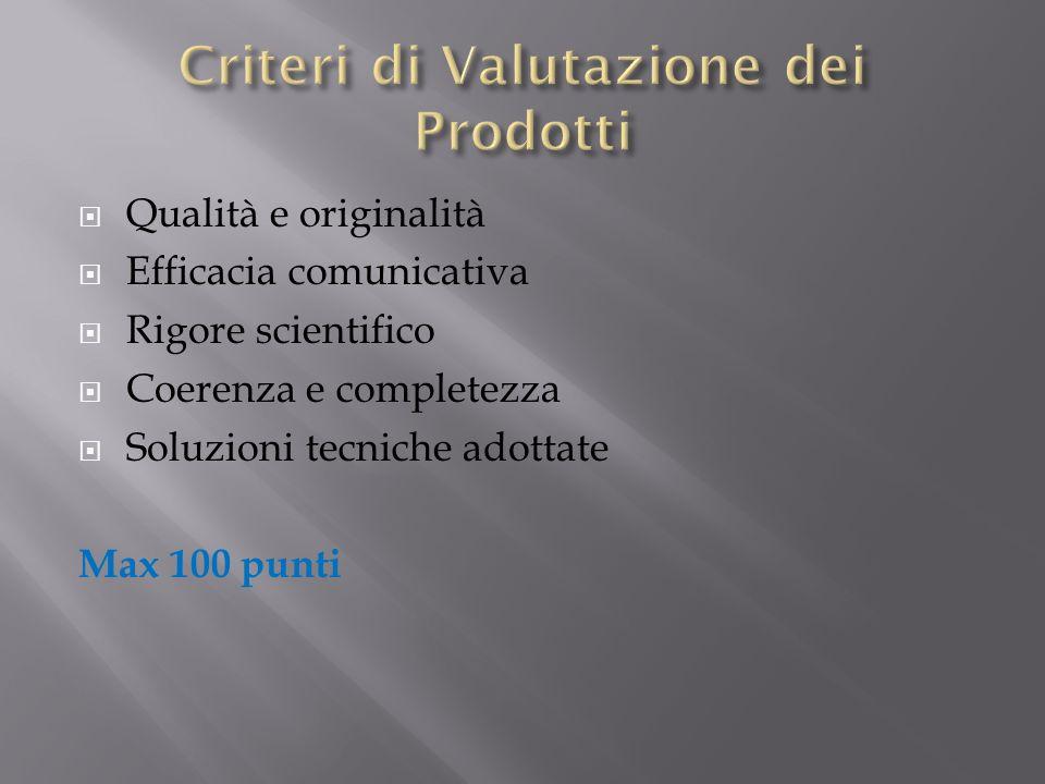 Criteri di Valutazione dei Prodotti