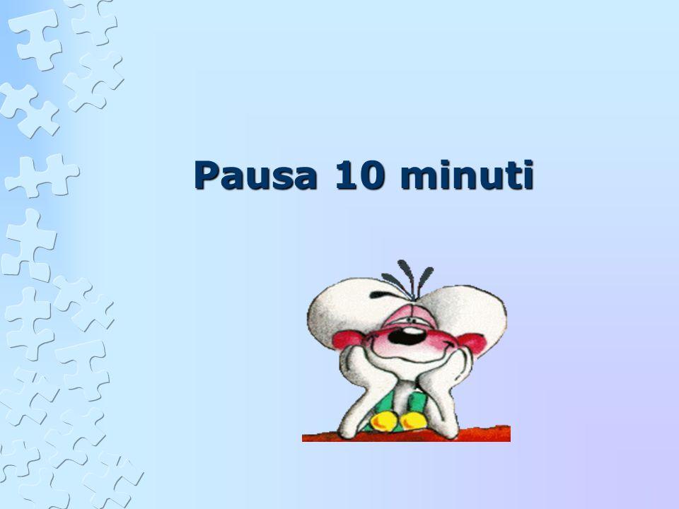 Pausa 10 minuti