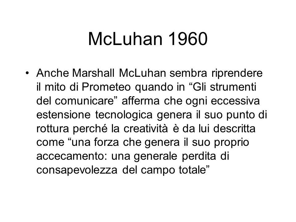 McLuhan 1960