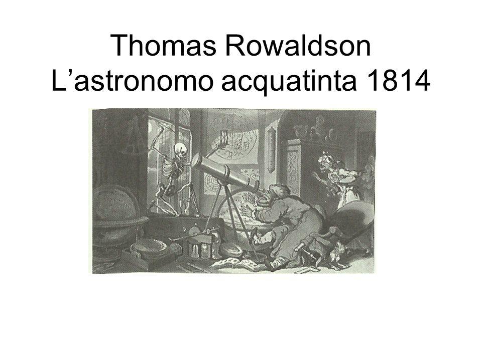 Thomas Rowaldson L'astronomo acquatinta 1814