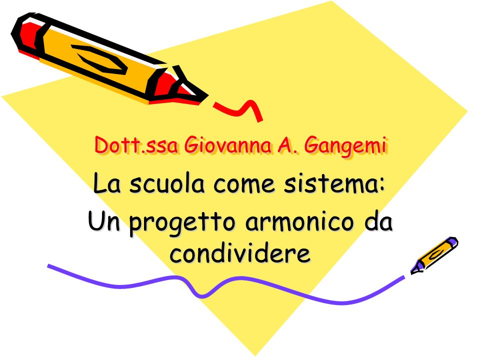 Dott.ssa Giovanna A. Gangemi