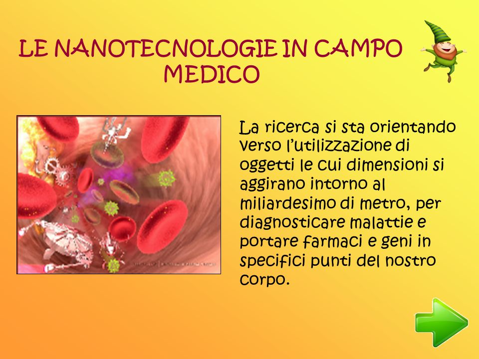 LE NANOTECNOLOGIE IN CAMPO MEDICO