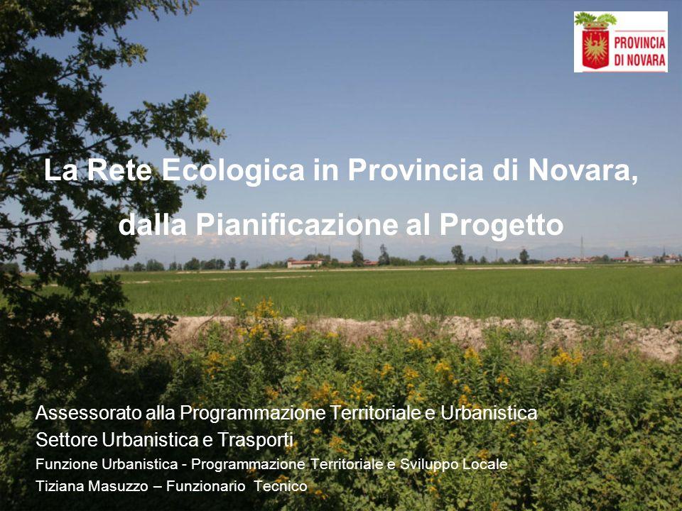 La Rete Ecologica in Provincia di Novara,