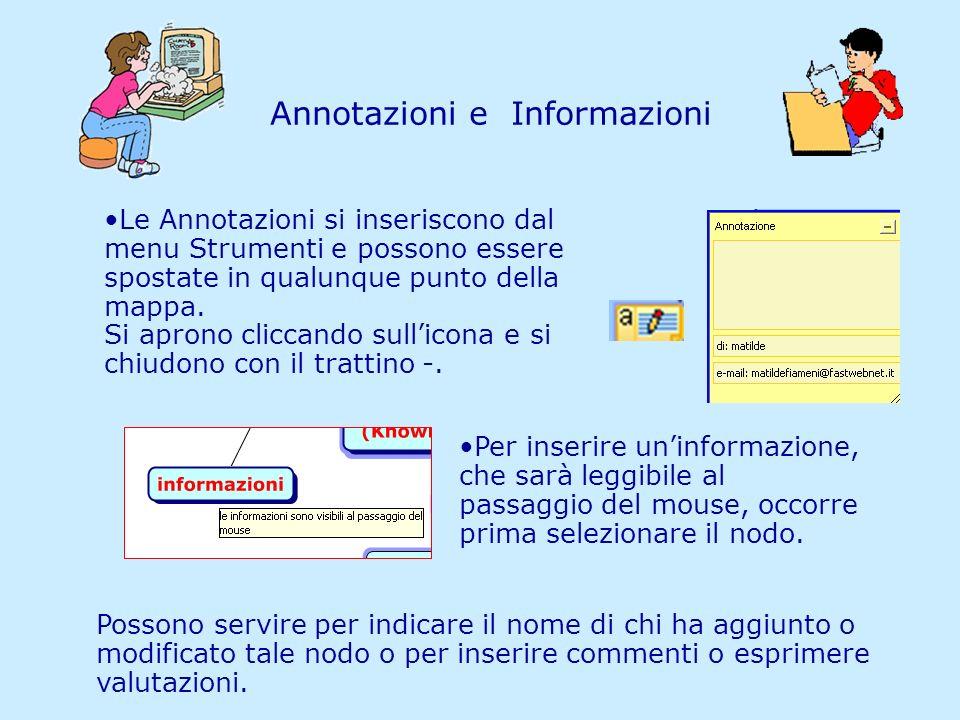Annotazioni e Informazioni