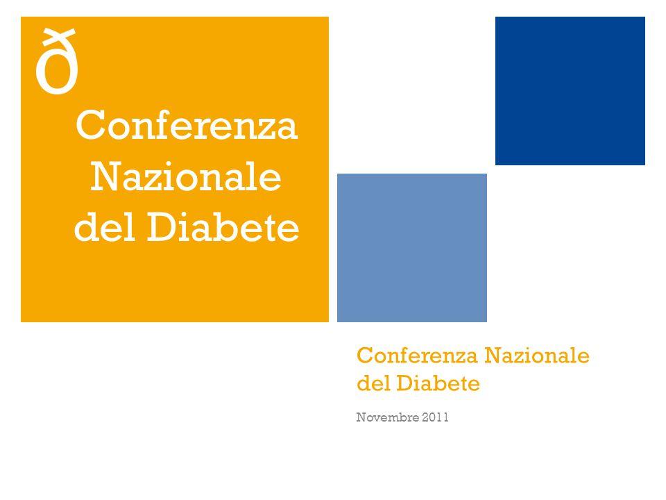 Conferenza Nazionale del Diabete
