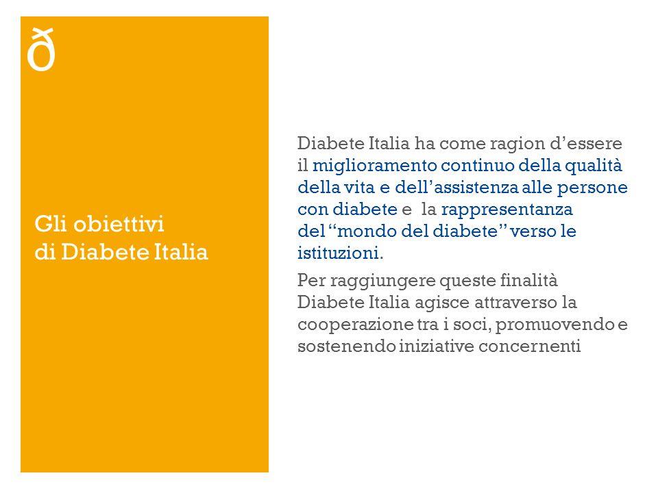 Gli obiettivi di Diabete Italia