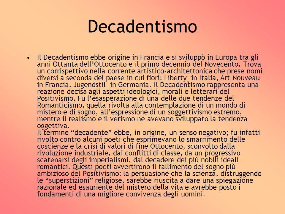 Decadentismo