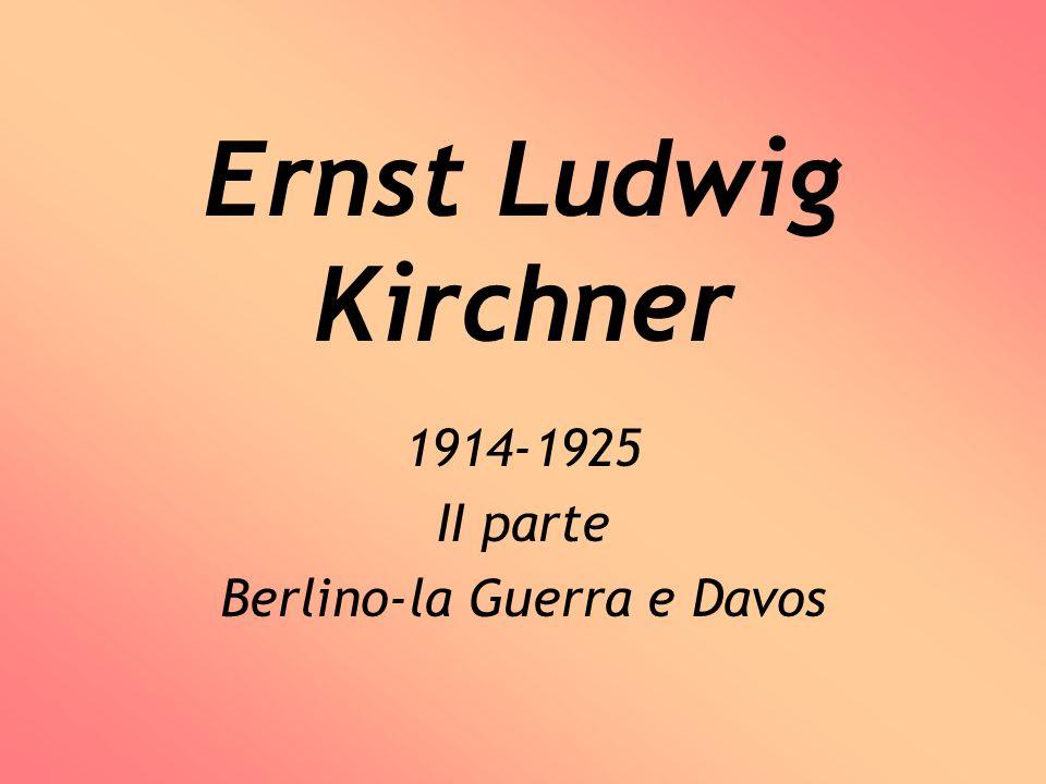 1914-1925 II parte Berlino-la Guerra e Davos