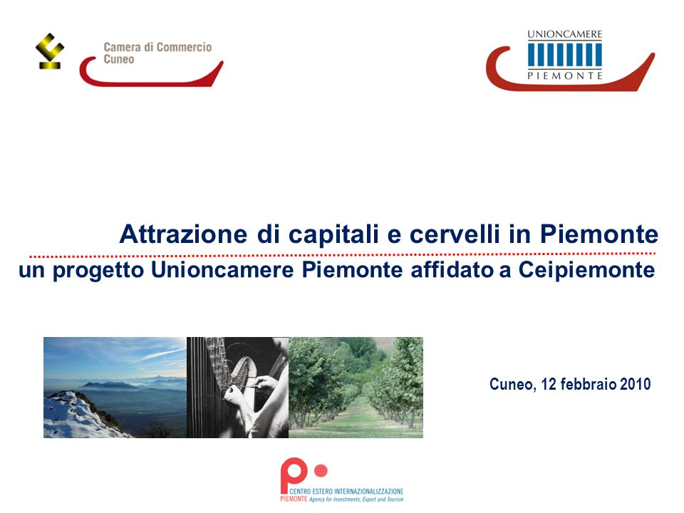 un progetto Unioncamere Piemonte affidato a Ceipiemonte