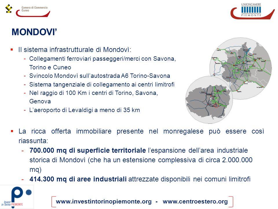 MONDOVI' Il sistema infrastrutturale di Mondovì: