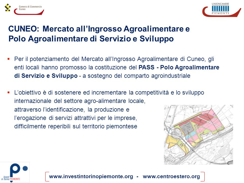 CUNEO: Mercato all'Ingrosso Agroalimentare e