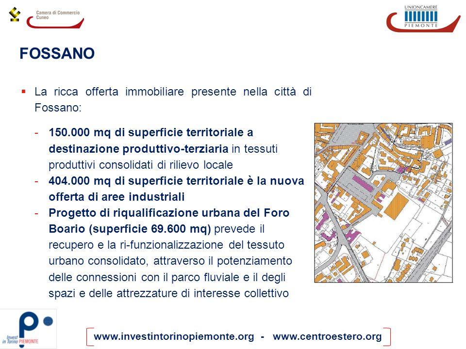 FOSSANO La ricca offerta immobiliare presente nella città di Fossano: