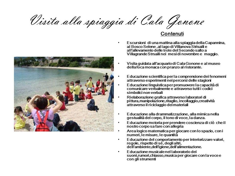 Visita alla spiaggia di Cala Gonone