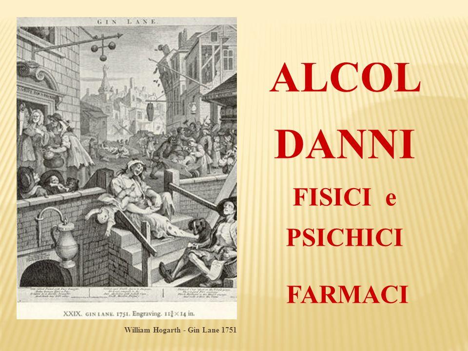 ALCOL DANNI FISICI e PSICHICI