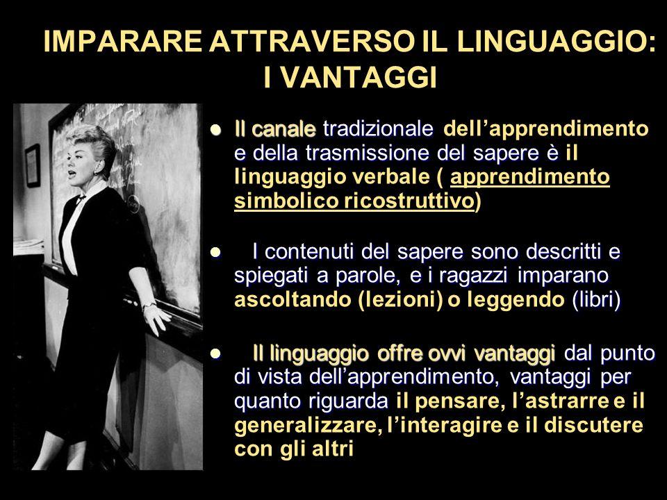 IMPARARE ATTRAVERSO IL LINGUAGGIO: I VANTAGGI