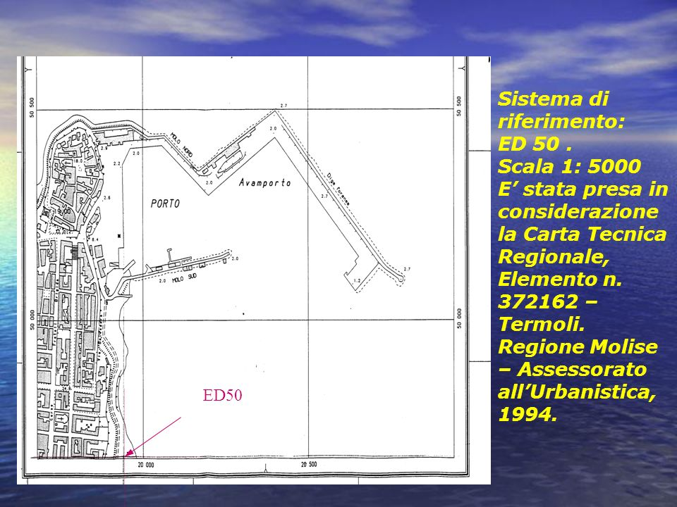 Sistema di riferimento: ED 50